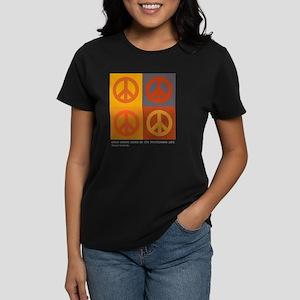Tribute To Wassily Kandinsky Women's Dark T-Shirt