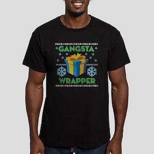 Emoji Gangsta Wrapper Men's Fitted T-Shirt (dark)