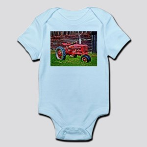 Red Tractor HDR Style Body Suit