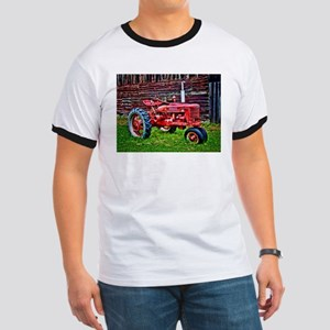 Red Tractor HDR Style T-Shirt