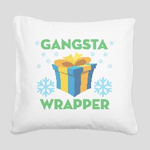 Emoji Gangsta Wrapper Square Canvas Pillow