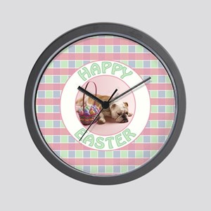 EASTER PUP Wall Clock