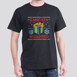 Emoji Gangsta Wrapper Dark T-Shirt