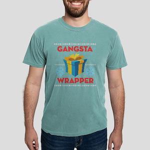 Emoji Gangsta Wrapper Mens Comfort Colors Shirt