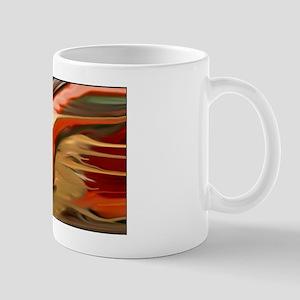 Cornucopia Abstract Art Mug