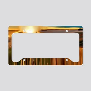 Dance of the Cacti Abstract A License Plate Holder
