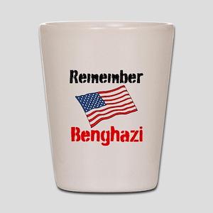 Remember Benghazi Shot Glass