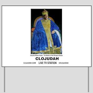 CLOJudah Empress Menen Asfaw Yard Sign