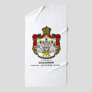 CLOJudah H.I.M. Royal Seal Beach Towel