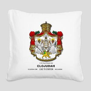 CLOJudah H.I.M. Royal Seal Square Canvas Pillow
