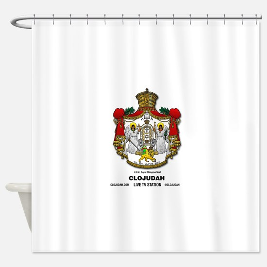 CLOJudah H.I.M. Royal Seal Shower Curtain