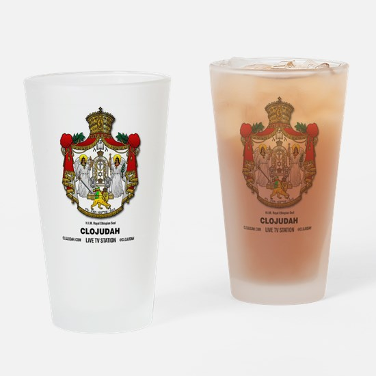 CLOJudah H.I.M. Royal Seal Drinking Glass