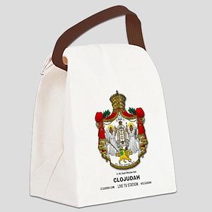CLOJudah H.I.M. Royal Seal Canvas Lunch Bag