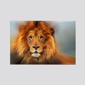 lion12345678910 Rectangle Magnet
