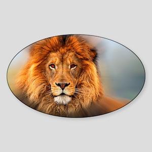 lion12345678910 Sticker (Oval)