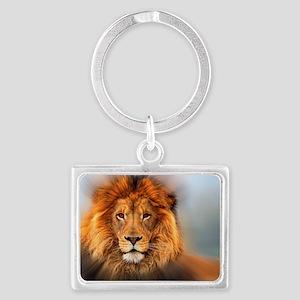 lion12345678910 Landscape Keychain