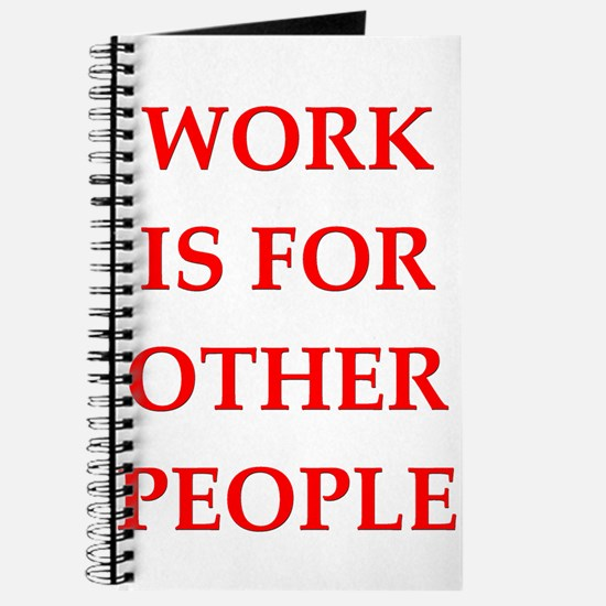 work Journal