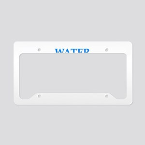 water boarding License Plate Holder