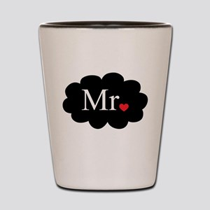 Mr with heart dot on cloud (Mr and Mrs set) Shot G