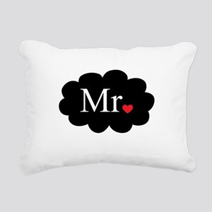 Mr with heart dot on cloud (Mr and Mrs set) Rectan