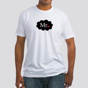 Mr with heart dot on cloud (Mr and Mrs set) T-Shir