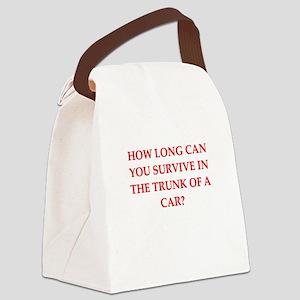 drop dead Canvas Lunch Bag