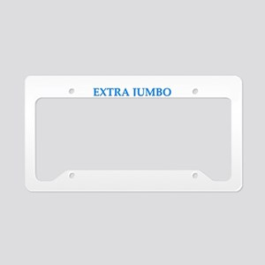 mumbo jumbo License Plate Holder