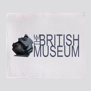 A Little Bit Farther -British Museum Throw Blanket