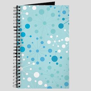 Retro Dots Aqua Journal