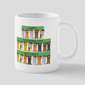 December 30th Birthday. Mugs