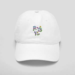 Peace Love Yoga Cap