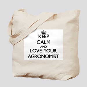 Keep Calm and Love your Agronomist Tote Bag