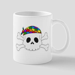 Autism Pirate Pride Mugs