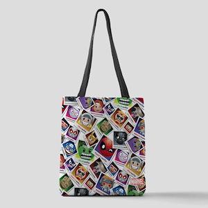 Marvel Emoji Selfie Polyester Tote Bag