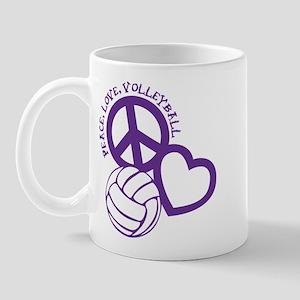 PEACE, LOVE, VB Mug