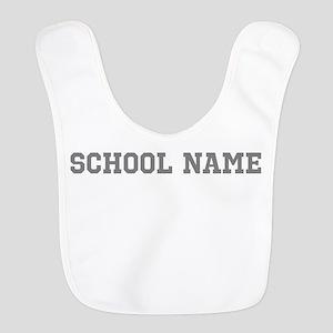 Custom School Name Bib