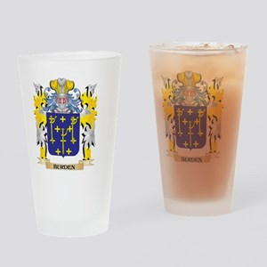 Burden Coat of Arms - Family Crest Drinking Glass