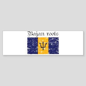 Bajan roots Bumper Sticker
