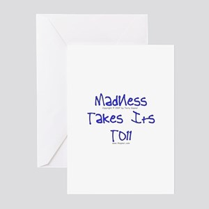 Madness/Toll Greeting Cards (Pk of 10)