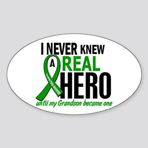 Cerebral Palsy Real Hero 2 Sticker (Oval)