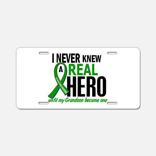 Cerebral Palsy Real Hero 2 Aluminum License Plate