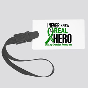 Cerebral Palsy Real Hero 2 Large Luggage Tag