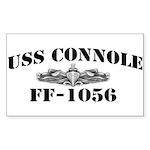 USS CONNOLE Sticker (Rectangle)