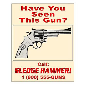 Sledge Hammer! Small Poster