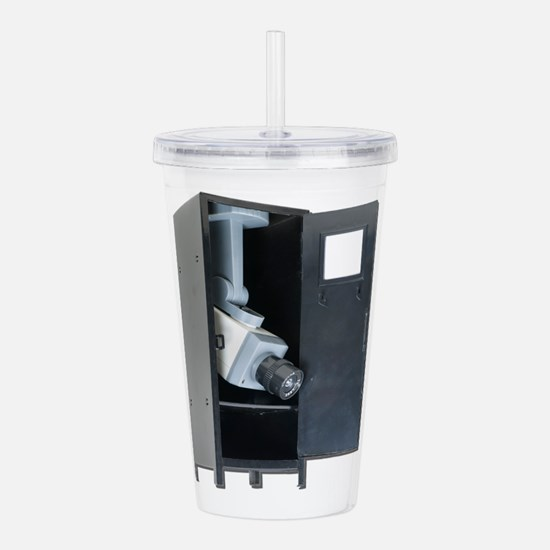 SchoolSecurity042211.p Acrylic Double-wall Tumbler