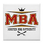 MBA Barbecue Tile Coaster