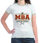 MBA Barbecue Jr. Ringer T-Shirt