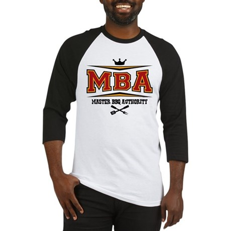 MBA Barbecue Baseball Jersey