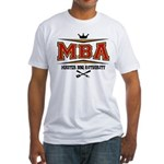 MBA Barbecue Fitted T-Shirt