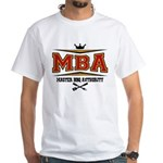 MBA Barbecue White T-Shirt